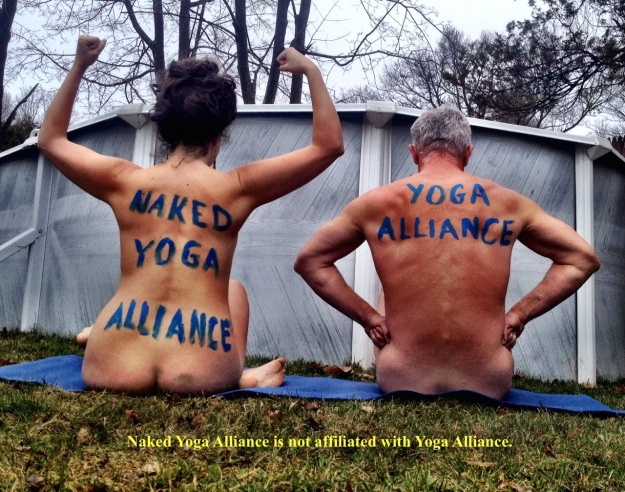 Naked Yoga Alliance Disclaimer